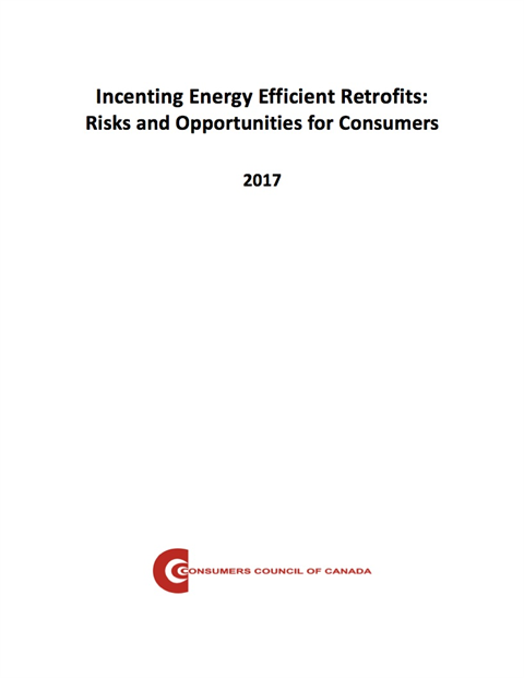 Incenting Energy Efficient Retrofits: Risks and Opportunities for Consumers [EPUB]