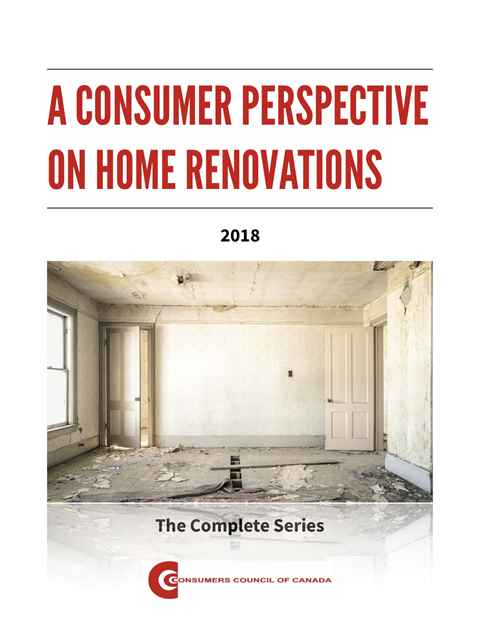 A Consumer Perspective on Home Renovation: The Complete Series [PDF]