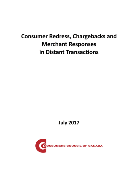 Consumer Redress, Chargebacks and Merchant Responses in Distant Transactions [EPUB]
