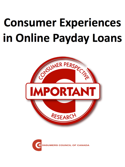 Consumer Experiences in Online Payday Loans [EPUB]