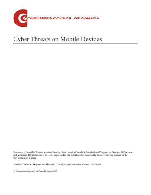 Cyber Threats on Mobile Devices