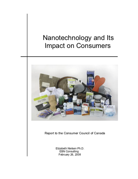 Nanotechnology and Its Impact on Consumers [PDF]