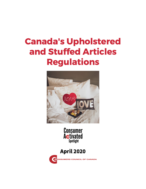 Canada's Upholstered and Stuffed Articles Regulations [EPUB]