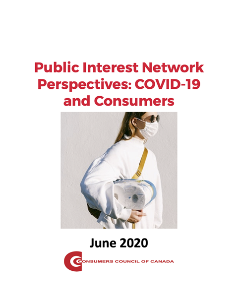 Public Interest Network Perspectives: COVID-19 and Consumers [EPUB]