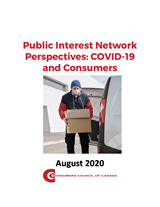 Public Interest Network Perspectives: COVID-19 and Consumers August 2020 [EPUB]