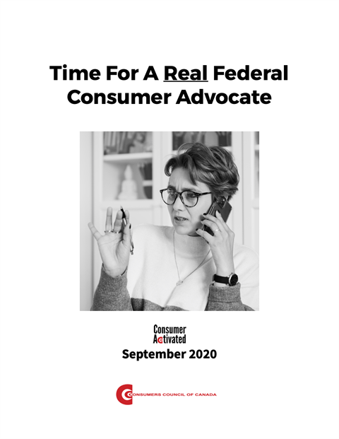 Time For A Real Federal Consumer Advocate [EPUB]