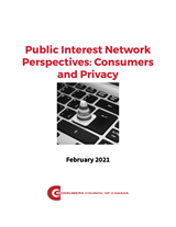 Public Interest Network Perspectives: Consumers and Privacy - PDF
