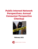 Public Interest Network Perspectives: Annual Consumer Perspective Checkup - PDF